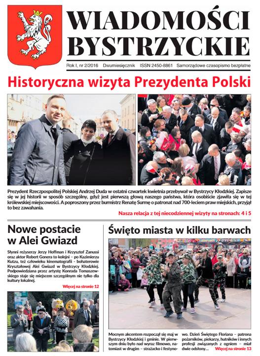 Wiadomości Bystrzyckie - Forma i format